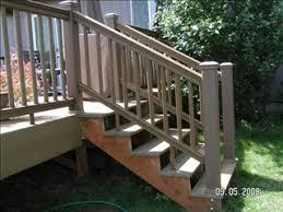 Porch Steps Handrail Decks Red Letters Enterprises Inc Home Repair U0026 Remodel
