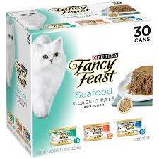 purina fancy feast classic seafood feast collection cat food 30 3