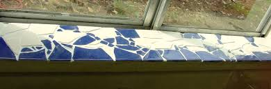 Kitchen Windowsill Make The Best Of Things Mosaic Tile Window Sill