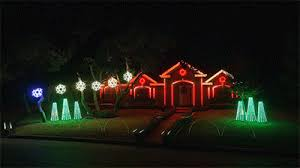 the great christmas light show 2015 johnson family dubstep christmas light show
