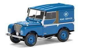 land rover daktari corgi land rover series 1 80 u201d rac road service vehicle va11116