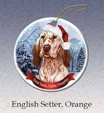 pet gifts usa gordon setter ornament santa hat define