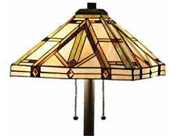 Stained Glass Light Fixtures Tiffany Style Stained Glass Table Lamp Golden Mission Floor