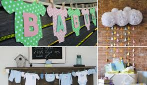 simple baby shower decorations 22 low cost diy decorating ideas for baby shower party