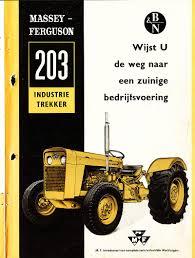 massey ferguson 203 industrial tractor u0026 construction plant wiki