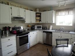 Custom Painted Kitchen Cabinets Kitchen Refinishing Oak Cabinets How Much Does Cabinet Refacing