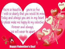 valentine heart messages valentinesday