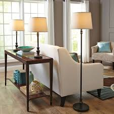 End Table Lamps For Living Room Better Homes And Gardens 3 Piece Lamp Set Bronze Finish Walmart Com