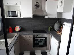 cuisine effet beton cuisine sur mesure effet béton ciré contemporain cuisine