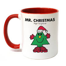 mr christmas personalised mr christmas large porcelain colour handle mug