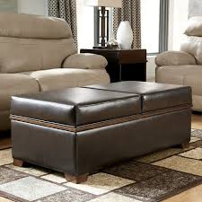 kossuth upholstered ottoman with storage signature design by