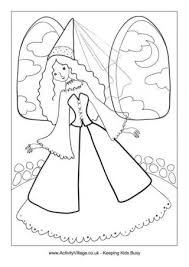 cinderella colouring