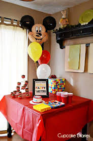 mickey mouse birthday party simple mickey mouse birthday party free subway printable