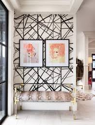 wallpaper designs for home interiors black and white geometric wallpaper geometric pattern removable