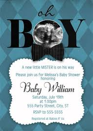 bow tie baby shower blue preppy bow tie bowtie baby shower invitations with ultrasound