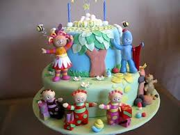 in the night garden cake for lachlan party ideas pinterest