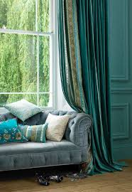 Curtains Blue Green 146 Best Window Treatments Images On Pinterest Window Treatments