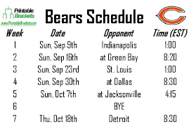 printable bulls schedule 29 images of template bears roster helmettown com