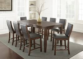 countertop dining room sets alcott hill abigale counter height extendable dining table