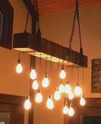 rustic beam light fixture custom made reclaimed barn beam chandelier light fixture modern