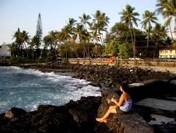 Hawaii travel wifi images Exploring beautiful kona hawaii magic sands la 39 aloa beach park jpg