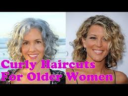 curly hairstyles for older women over 40 to 60 years short