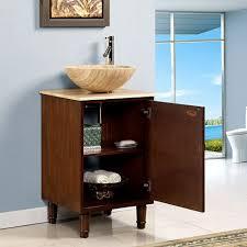 Round Bathroom Vanity Vessel Sinks Vessel Sink Inch Round Sinks And Vanityde18th Diy