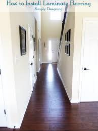 Is It Easy To Lay Laminate Flooring How To Install Floating Laminate Wood Flooring Part 3 The