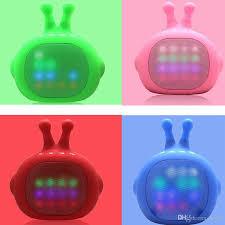 cute speakers best cute robot led bluetooth speaker wireless tv shape mini multi