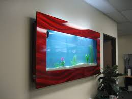 Wall Aquarium by Fish Tank Aussie Aquariums Wall Mounted Aquarium Picture Frame