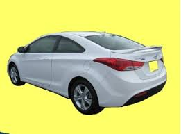 2015 hyundai elantra coupe 2013 2015 hyundai elantra coupe factory style spoiler with led 3rd