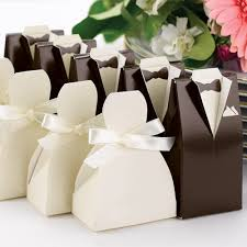 personalized wedding favor boxes tuxedo and gown favor boxes 25 pcs black and white favors