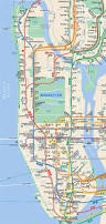 Mta Map Download Manhattan Subway Map Major Tourist Attractions Maps New