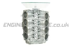chrome rover v8 engine wine rack end table by reborn uk