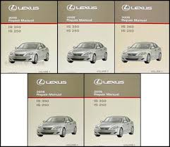 2008 lexus is 250 owners manual 2008 lexus is 350 is 250 repair shop manual set original