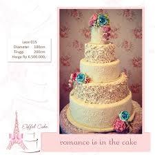 wedding cake surabaya harga heidy heici sakachan wedding cake eiffel cake