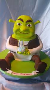 364 best shrek cakes images on shrek cake themed