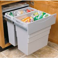 Kitchen Cabinet Trash Kitchen Recycling Bins For Cabinets