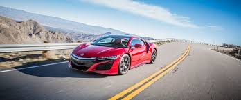 acura supercar 2017 acura nsx performance