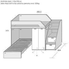 l shaped bunk beds plans home decor 11036