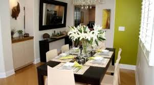 luxuriant simple dining room table floral arrangements home design