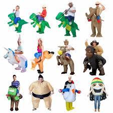 Inflatable Halloween Costumes Adults Purim Carnival Halloween Costume Women Dinosaur Cowboy