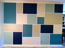 Accent Wall Patterns by Feature Wall Paints Home Design Ideas