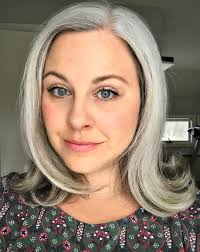 salt and pepper hair with lilac tips how bourgeois when you ve got the gray hair blues my 4 top tips