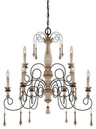 Minka Lighting Chandeliers Minka Lavery 1239 580 Accents Provence Chandelier In Provence