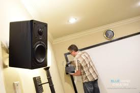 home theater system installation surround sound system calibration speakers installation setup