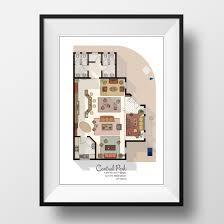 seinfeld apartment floor plan central perk cafe floor plan friends tv show layout central