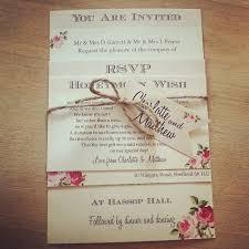 the most economic wedding invitation printing by diy wedding