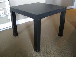 furniture captivating wondrous black square ikea end tables and