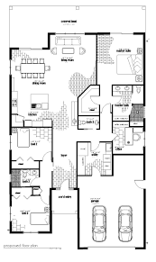 Floor Plan With Elevation And Perspective by Custom Florida House Plans Loch House Mangrove Bay Design